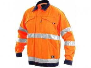 norwich reflexni bunda oranžová