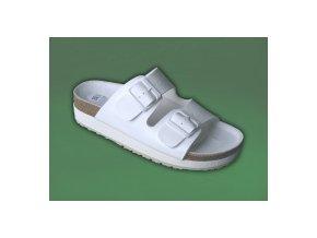 zdravotní pantofle bílé dámské