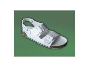 zdravotní sandály bílé pánské