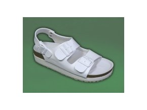 zdravotní sandály bílé dámské