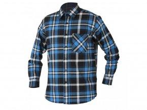 JONAH flanelová košile modrá