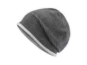 MB7127 black grey heather 109956 tmavě šedá