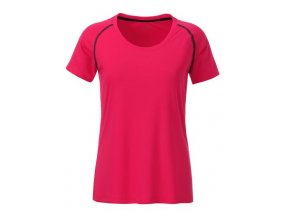 Dámské funkční tričko JN495 růžové