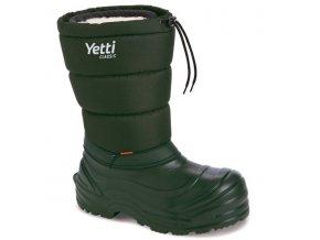 0098107 demar yetti classic 3870 panske zimni boty zelene