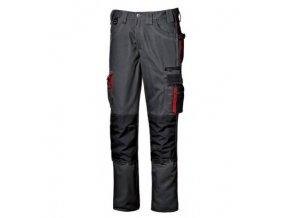 HARRISON pracovní kalhoty pas šedé