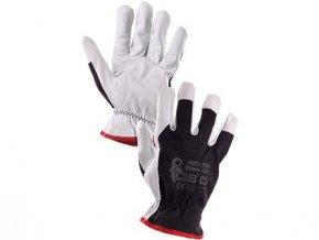 TECHNIK PLUS rukavice  černo-bílé kombinované