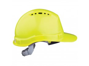 Přilba HM-6 hi-viz žlutá