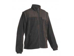 RANDWIK fleecová bunda 2v1 černá