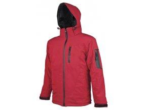 SPIRIT letní softshellová bunda červená