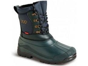 DEMAR / Pánská zimní obuv TROP 2, myslivecká - zelená