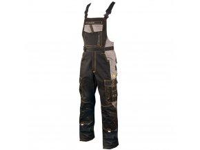 ARDON VISION  kalhoty s laclem černo-šedé  + 3 páry rukavic Petrax +