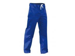 Monterkové kalhoty do pasu pánské modré
