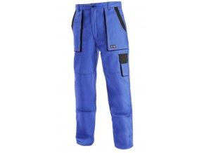 LUX JOSEF montérkové kalhoty modro-černé