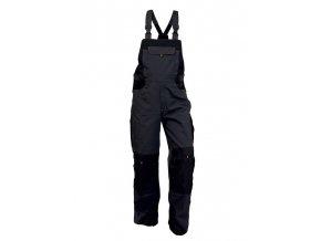CXS SIRIUS TRISTAN pánské kalhoty s laclem šedo-oranžové