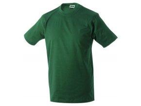 James a Nicholson JN002 pánské tričko 4XL tmavě zelené