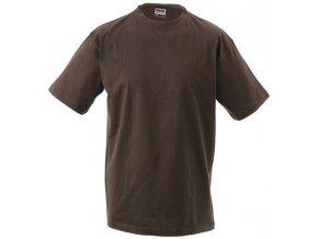 James a Nicholson JN002 pánské tričko 5XL hnědé