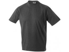 James a Nicholson JN002 pánské tričko 5XL tmavě šedé