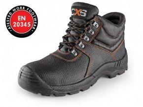 STONE MARBLE S3 kotníková obuv s ocelovou špicí