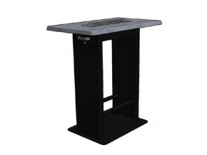 Kuřácký stůl hranatý s popelníkem
