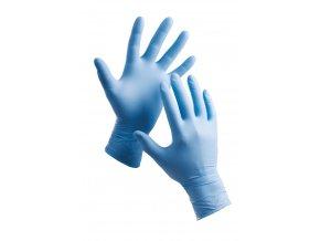 Červa Barbary jednorázové nitrilové rukavice