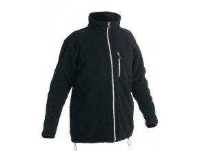 KARELA fleecová bunda černá