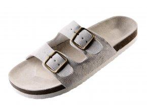 PUDU pantofle bílé