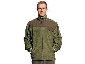 RANDWIK fleecová bunda 2v1 zelená