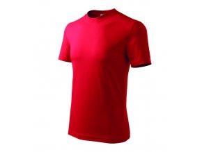 TEESTA triko bavlněné červené