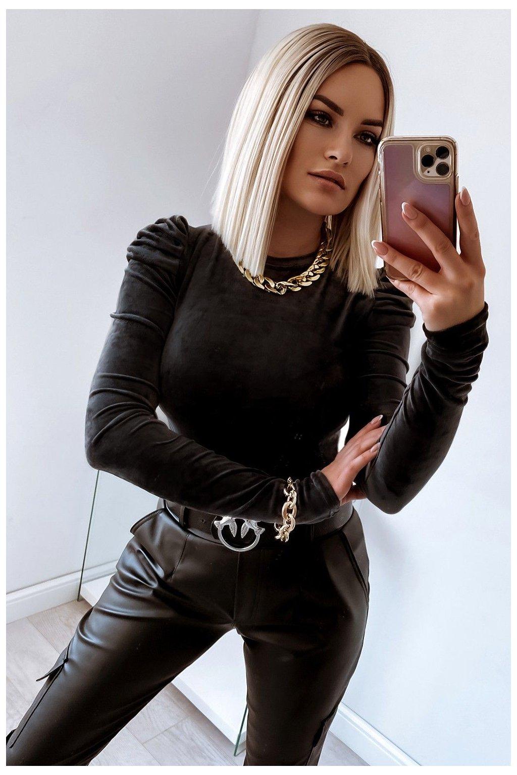 bluzka bufki 644 black 3