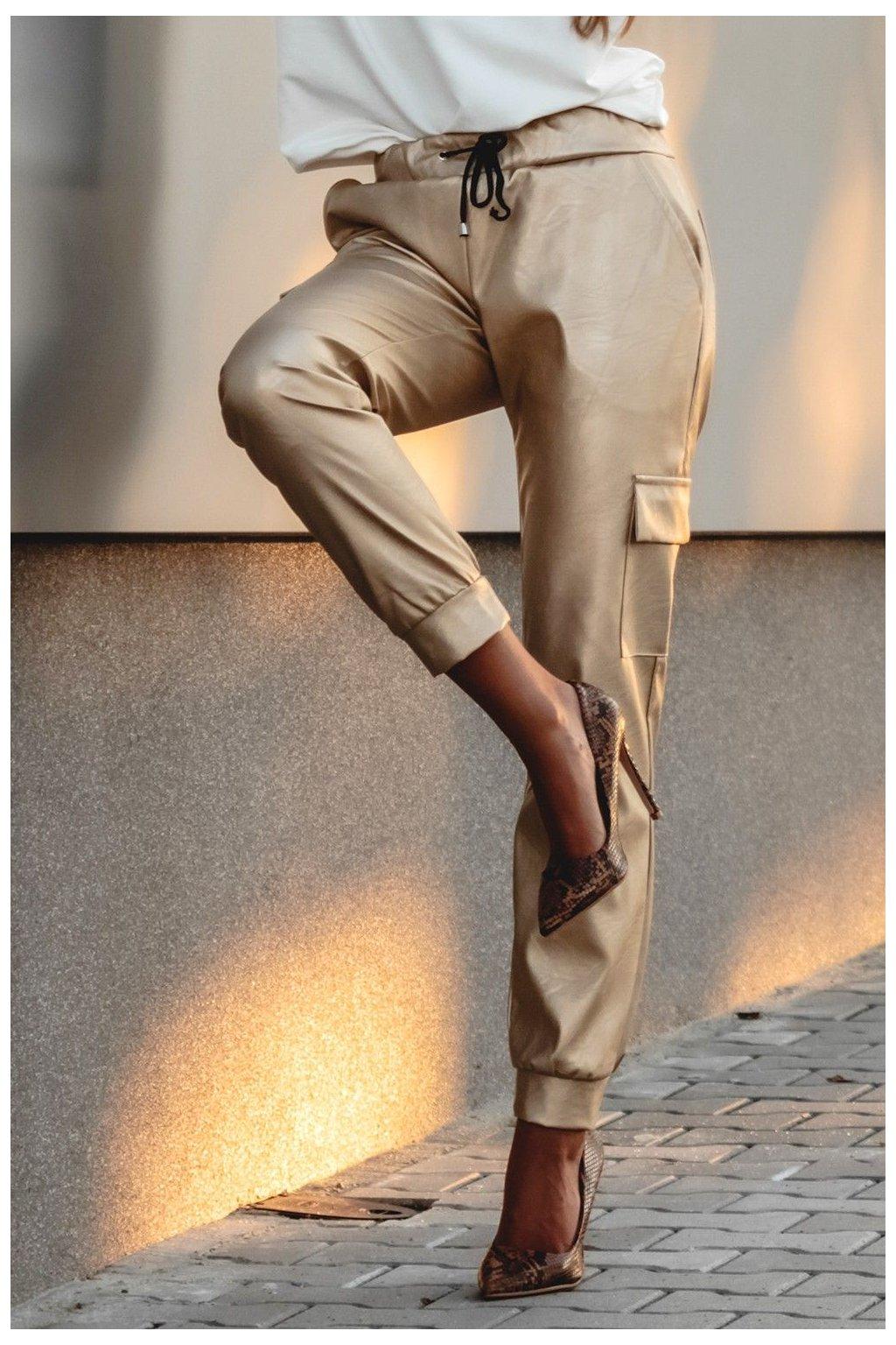 spodnie a la skora 451 1 gold 1