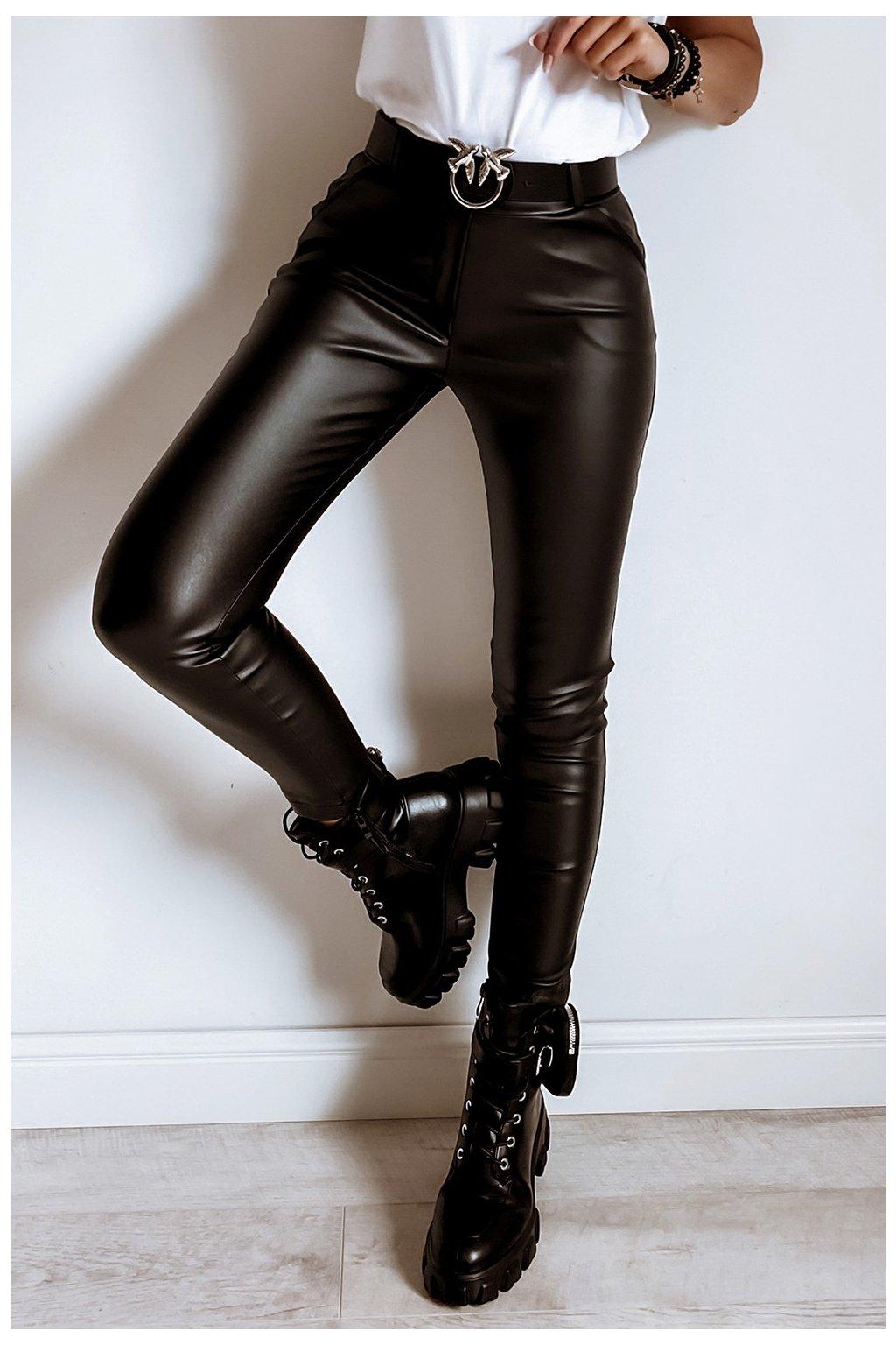 spodnie woskowane 649 black1