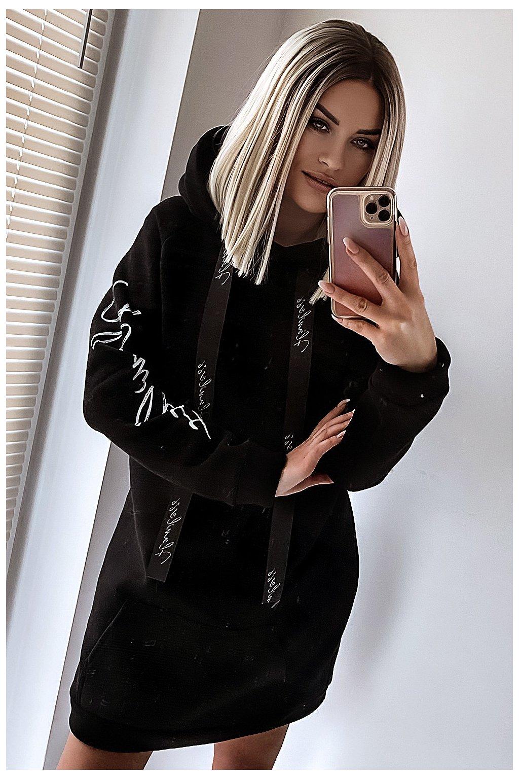 bluza long 627 black