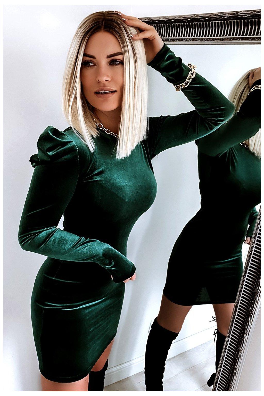 sukienka bufki 654 green