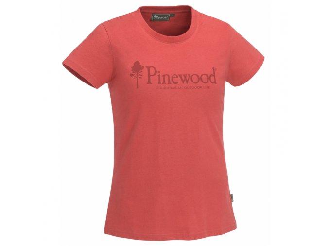 tricko pinewood outdoor life ladies koralova