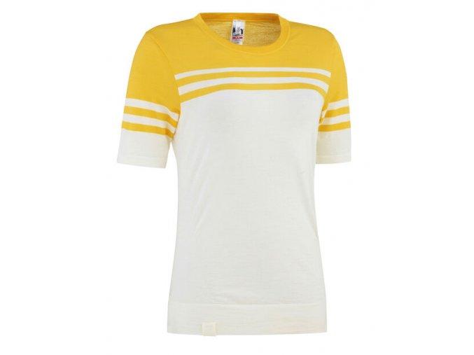 Dámské funkční Merino tričko s krátkým rukávem Kari Traa Humlesnurr - Shi  +Prací gel Jelen na vlnu a merino 0,5l