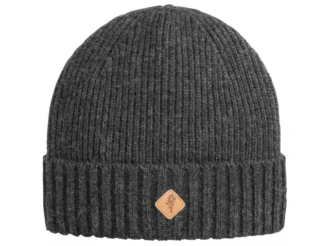 1121 449 01 pinewood hat wool knitted dark anthracite melange