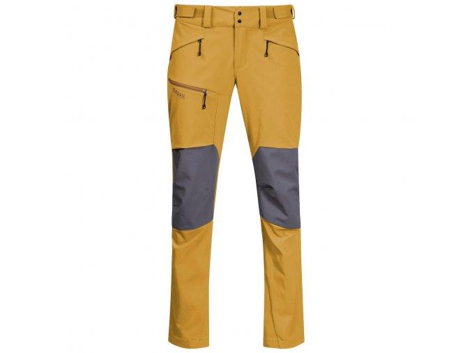 Pánské outdoorové softshellové kalhoty Rabot 365 Hybrid - žluté