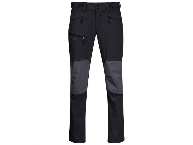 Pánské outdoorové softshellové kalhoty Rabot 365 Hybrid - černé