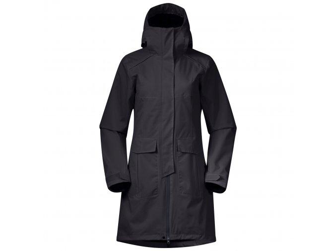 Dámský elegantní zateplený kabát Bergans Bjerke 3v1 - Charcoal