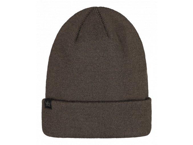 Unisex Merino čepice Alaska - Moss brown