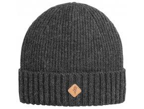 1121 449 01 pinewood hat wool knitted dark anthracite melange