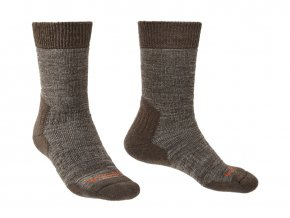 Pánské turistické ponožky Bridgedale Explorer HW MC Boot - Chestnut