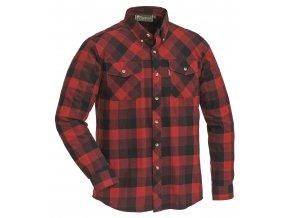 Pinewood Košile Lumbo - Červeno/Černá