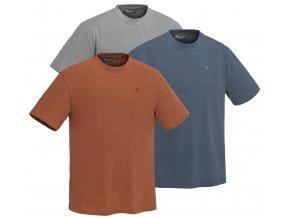 Set 3 triček Pinewood Outdoor Col - Terracotta