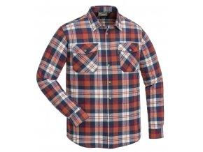 Flanelová košile Pinewood Härjedalen - Marin