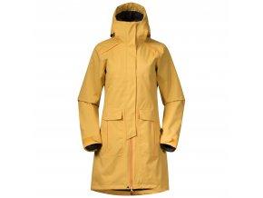 Dámský elegantní zateplený kabát Bergans Bjerke 3v1 - Golden