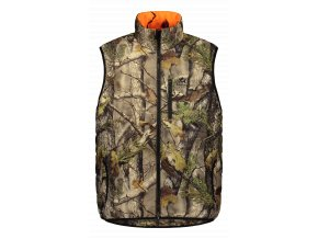 Tundra paddad vest Front (1)