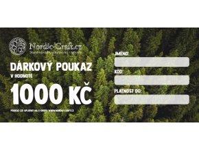 Dárkový poukaz 1 000,- na Nordic-Craft
