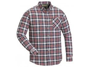 5331 520 shirt finnveden red navy sleeves down
