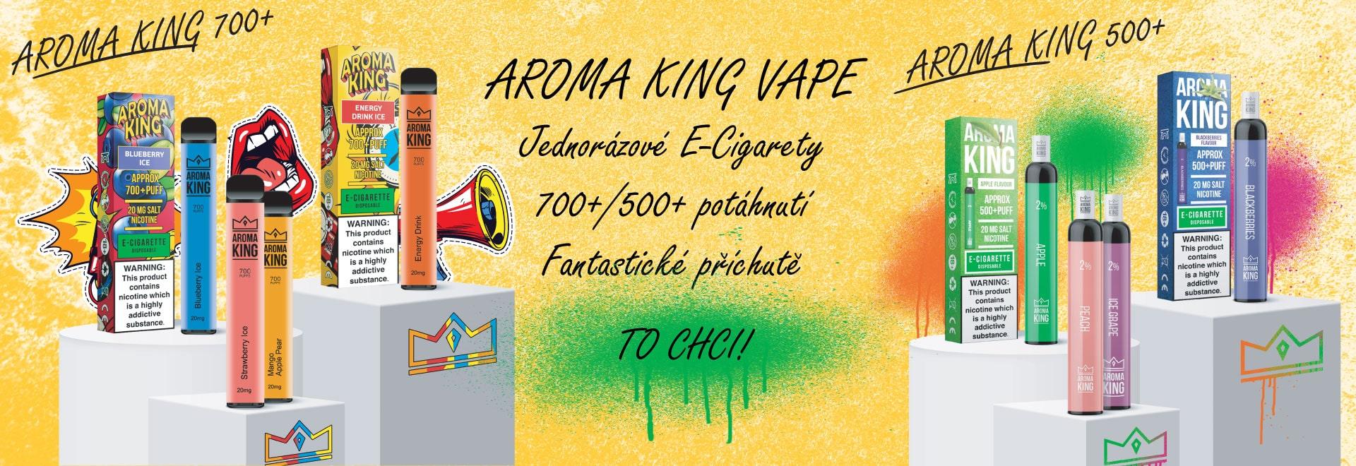 Aroma King E-cigarety